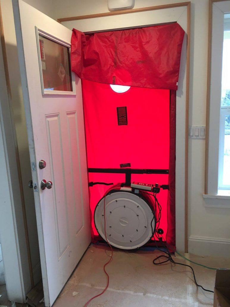 duct leak blower door testing in vancouver wa hendrickson hvac. Black Bedroom Furniture Sets. Home Design Ideas